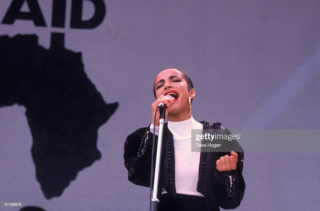 Sade At Live Aid : News Photo