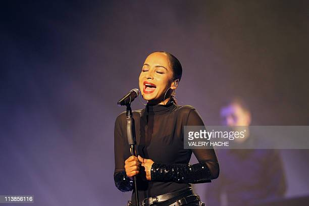 NigerianBritish singer Sade performs on stage in Nice southeastern France on April 29 2011 Sade of Smooth Operator fame in the mid80s is back after a...