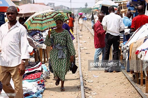 Nigerians in Oshodi Market