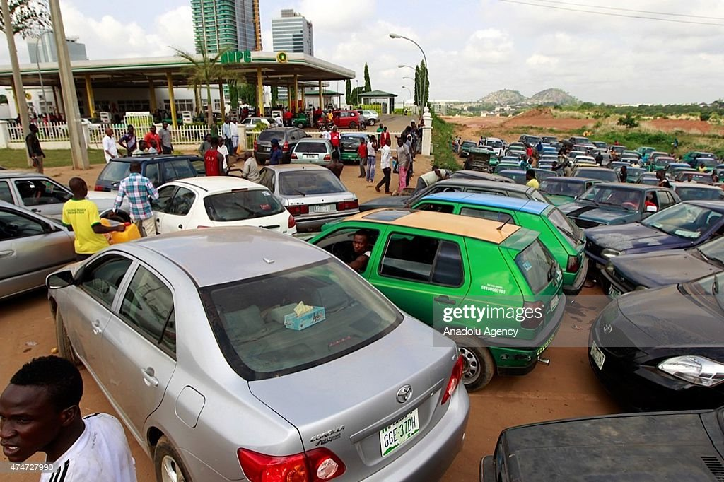 Fuel shortage in Nigeria : News Photo