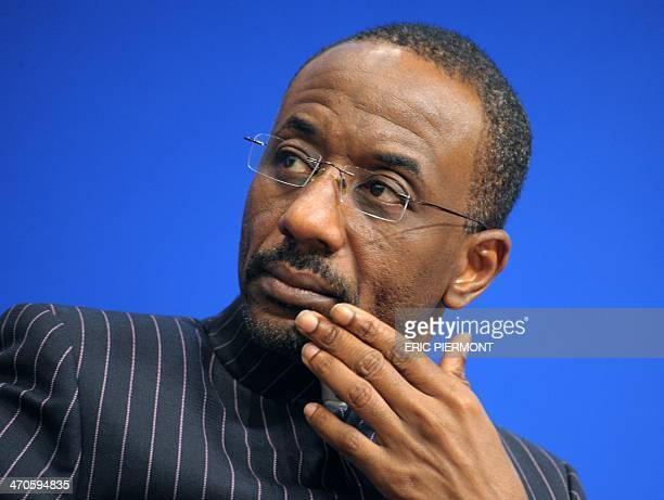Nigeria's Central Bank Governor Lamido Sanusi attends a session at the 10th International Economic Forum on Africa held at the French Economy...