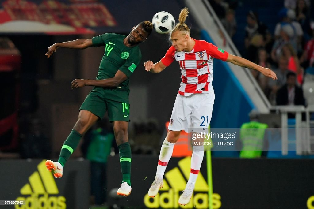 FBL-WC-2018-MATCH8-CRO-NGR : News Photo