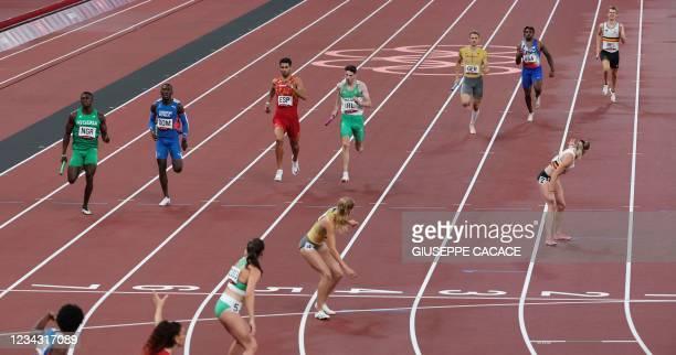 Nigeria's Ifeanyi Emmanuel Ojeli, Dominican Republic's Lidio Andres Feliz, Spain's Samuel Garcia, Ireland's Cillin Greene, Germany's Marvin Schlegel,...