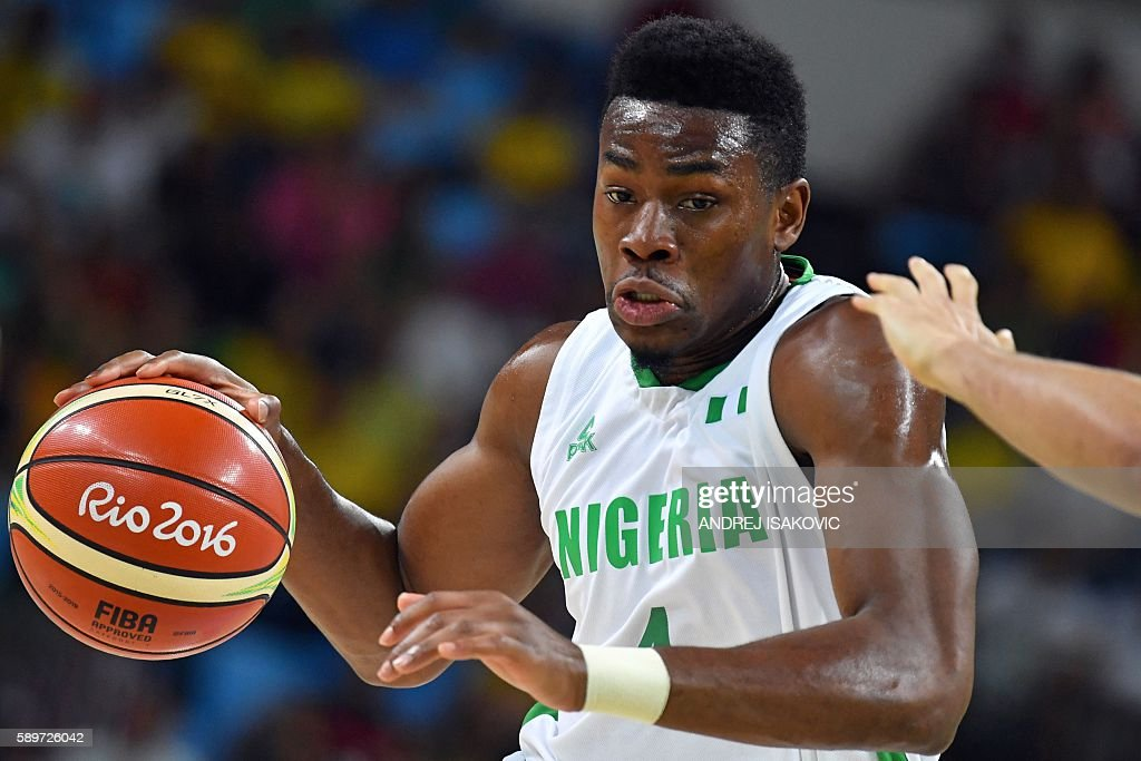 BASKETBALL-OLY-2016-RIO-NGR-BRA : News Photo