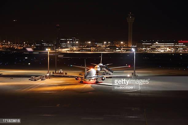 Aeroporto de Noite