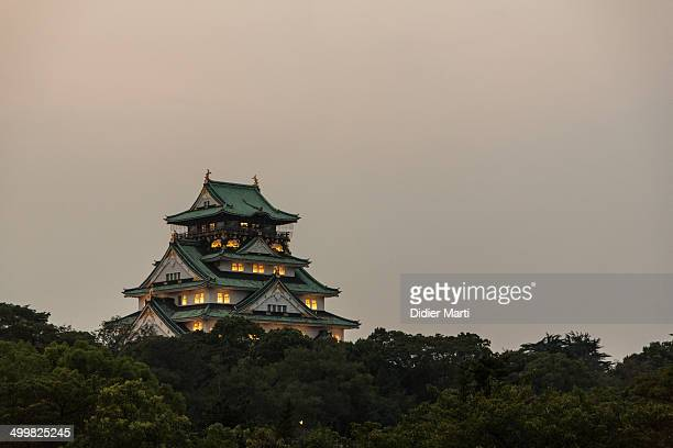 CONTENT] A night and distant view of the Osaka castle in Kansai Osaka is Japan third biggest city and its castle its main landmark