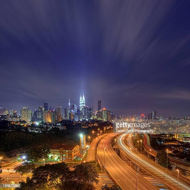 Night at  Kuala Lumpur