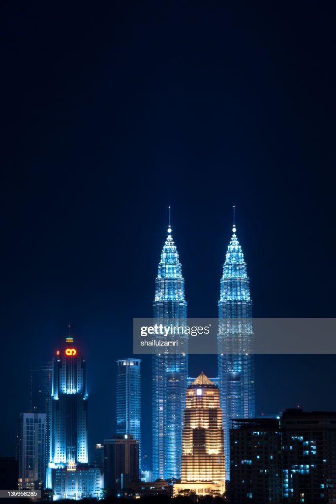 Night at Kuala : Stock Photo