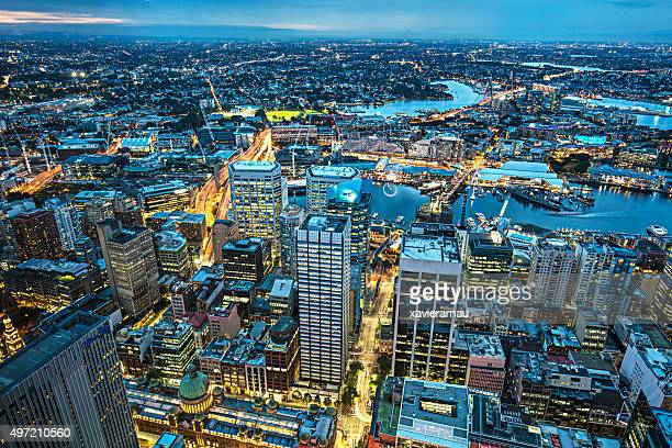 night at sydney - sydney stock pictures, royalty-free photos & images