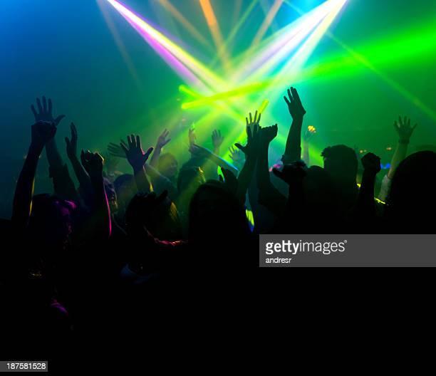 Abend in der disco