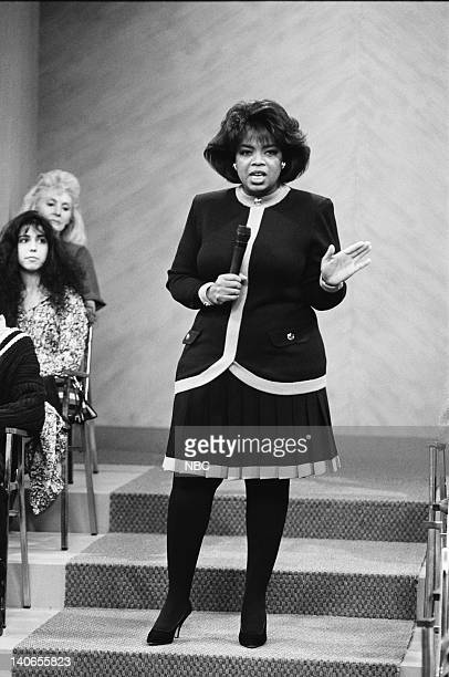AIR 'A NIght at the Oprah' Episode 9 Pictured Oprah Winfrey as Herself Photo by Chris Haston/NBCU Photo Bank