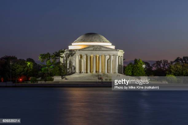 Night at the Thomas Jefferson Memorial