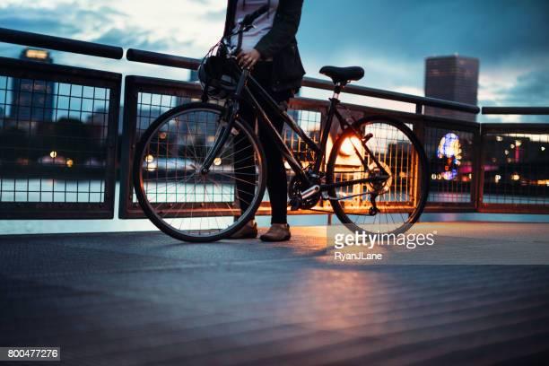 Nuit à vélo à Portland Oregon