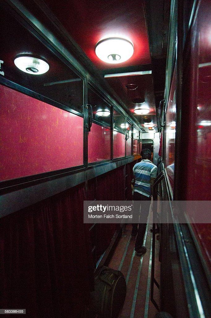Night Bus : Stock Photo