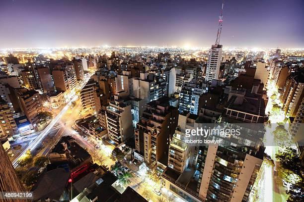 night city - cordoba argentina fotografías e imágenes de stock