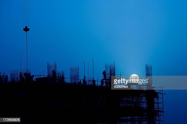 Construction de nuit