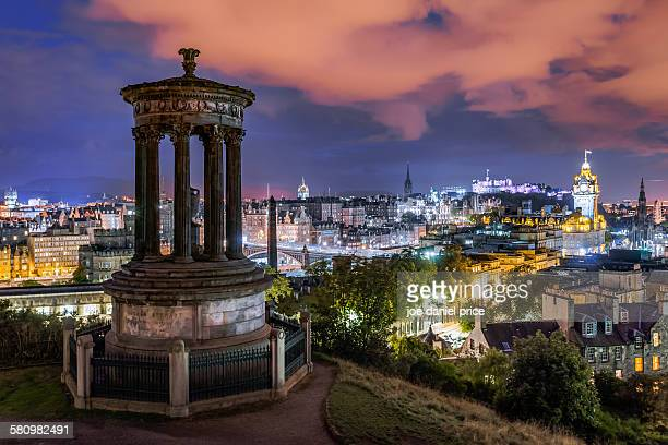 Night, Edinburgh, Scotland