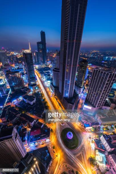Night eyes of city.