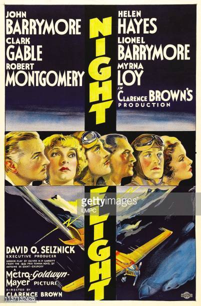 John Barrymore Helen Hayes Clark Gable Lionel Barrymore Robert Montgomery Myrna Loy 1933