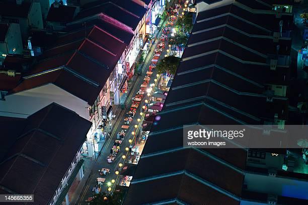 Night foods street