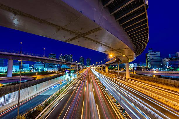 Night Highway Wall Art