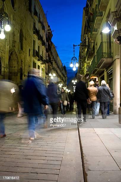 Night in Barcelona