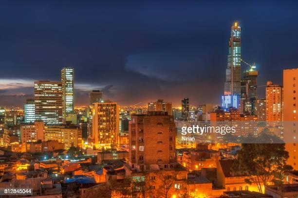 Nacht in Bogota