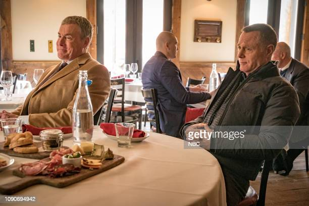 D Night In Chicago Episode 613 Pictured John C McGinley as Brian Kelton Jason Beghe as Hank Voight