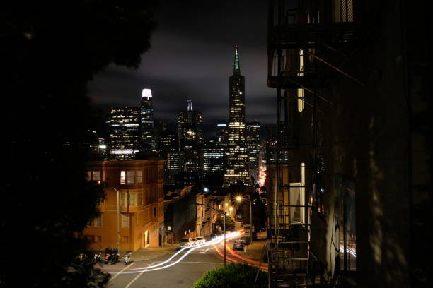 Night In Downtown San Francisco
