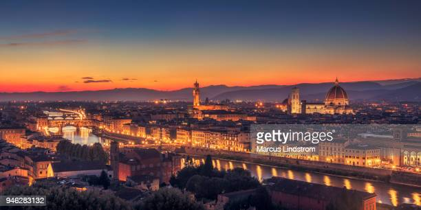 Night in Florence, Tuscany