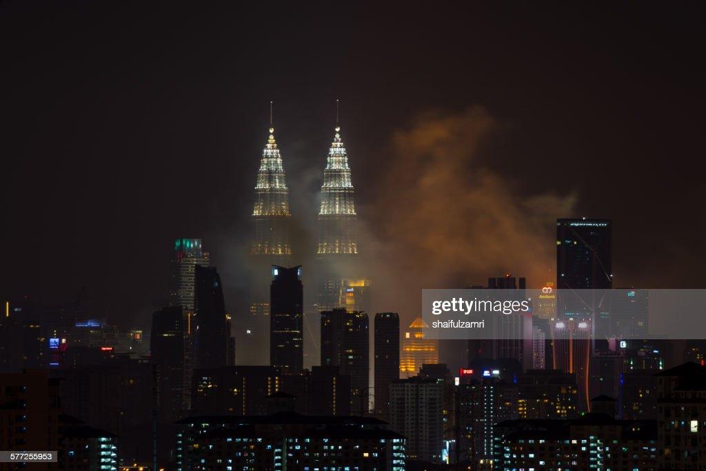 Night in Kuala Lumpur : Stock Photo