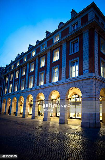 night in london - covent garden stock pictures, royalty-free photos & images
