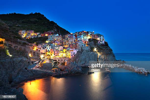 Night in Manarola