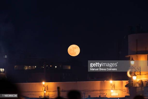 night in marrakech - north africa stock pictures, royalty-free photos & images