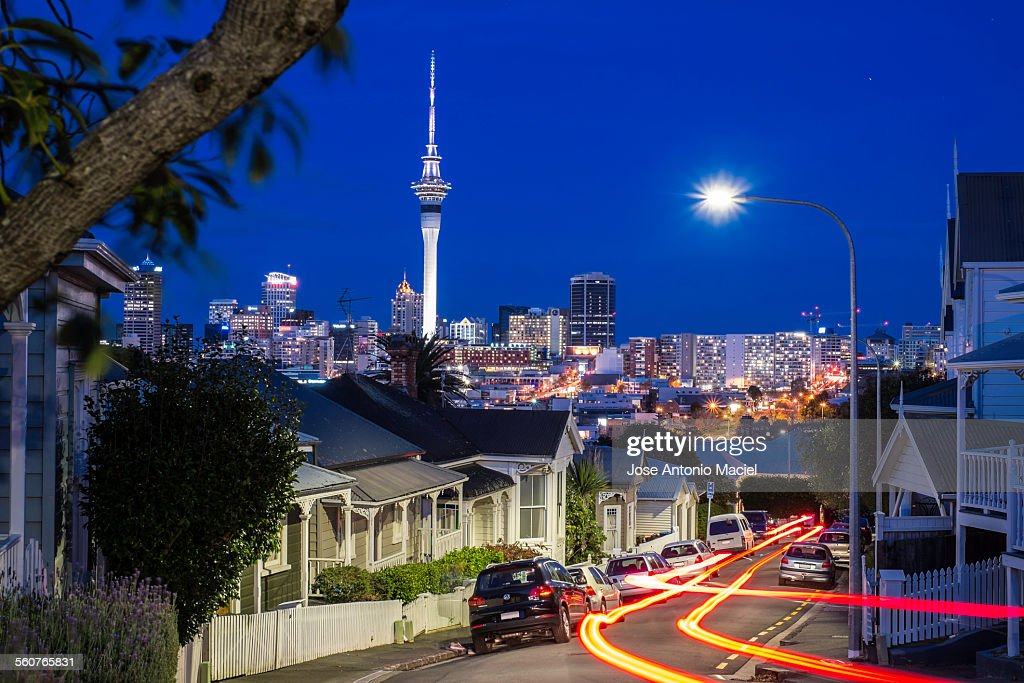 Night in Ponsonby : Stock Photo