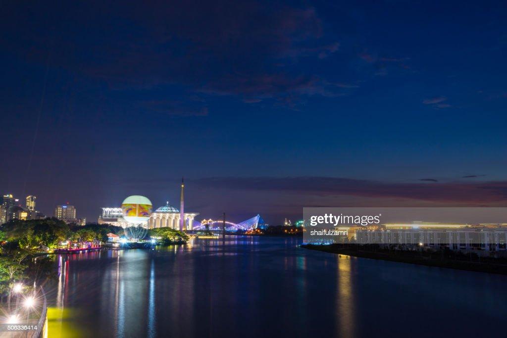 Night in Putrajaya, Malaysia : Stock Photo