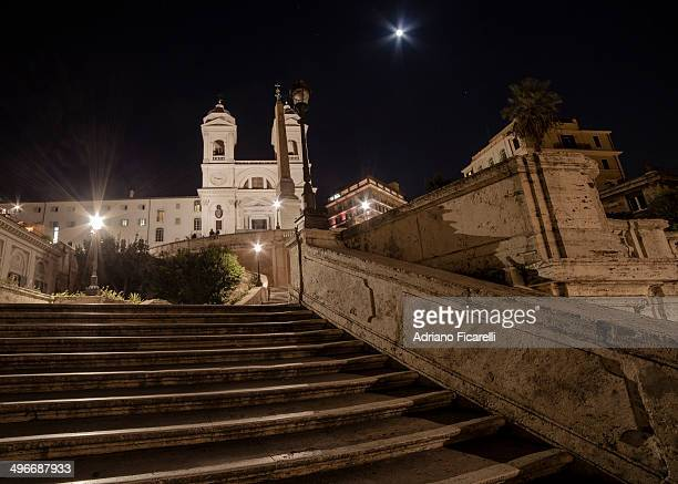 a night in rome - adriano ficarelli stock pictures, royalty-free photos & images
