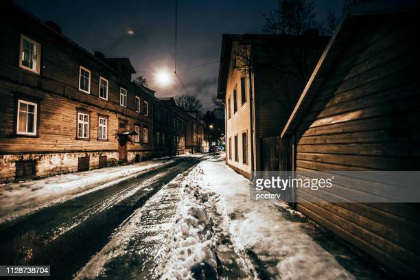 Night in town - Tallinn, Estonia