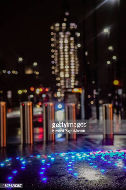 night life abstract wallpaper - howard pugh stock pictures, royalty-free photos & images