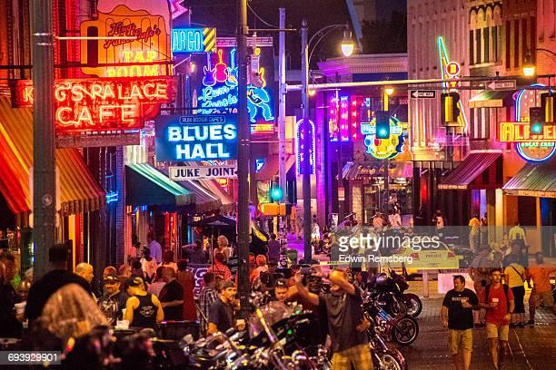 Night life in Memphis