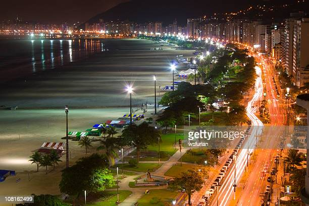 night life - santos stock pictures, royalty-free photos & images