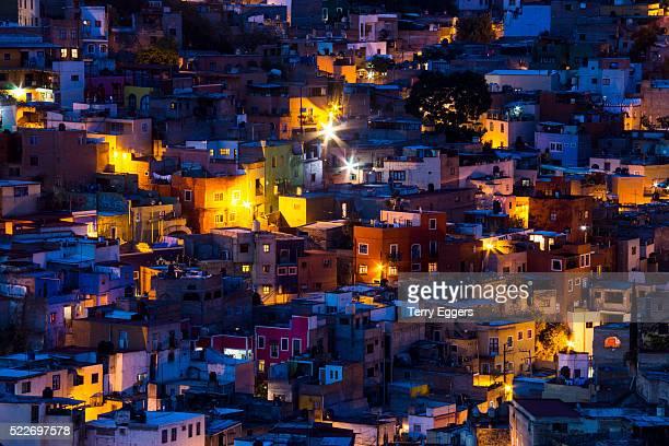 Night Lighting of the city of Guanajuato