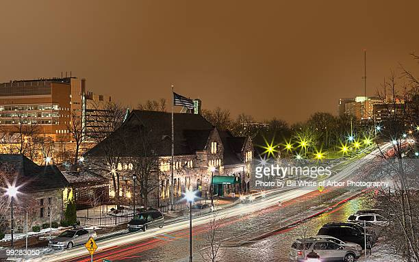 night lights - アナーバー ストックフォトと画像
