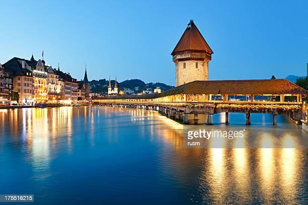 Nacht Luzern, Schweiz