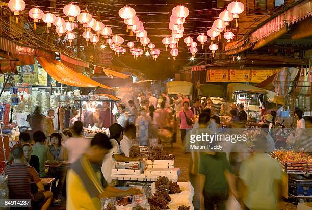 Night market in Bangkok's China Town