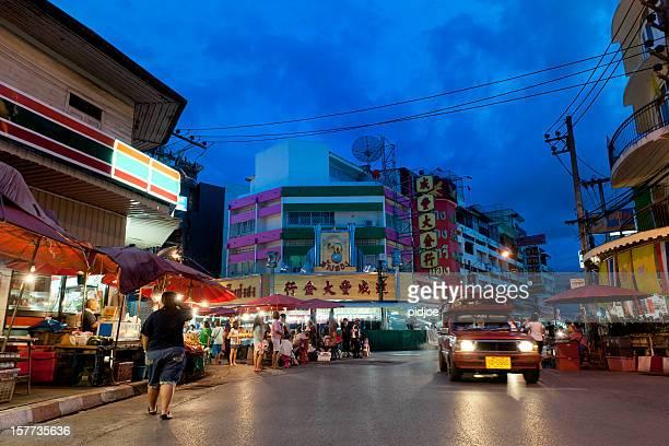 Night market in Chiang Mai Thailand