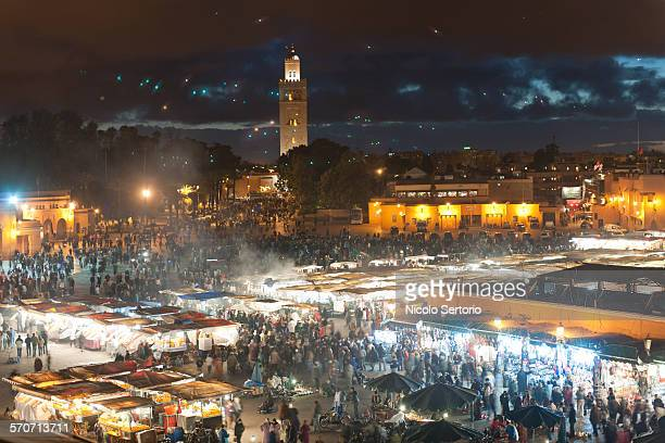 Night market in Marrakesh