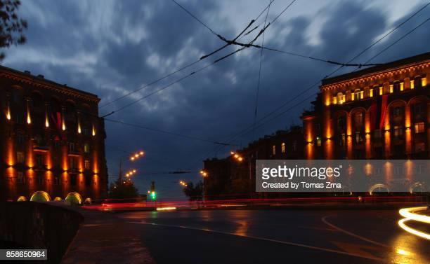 Night moods of Yerevan