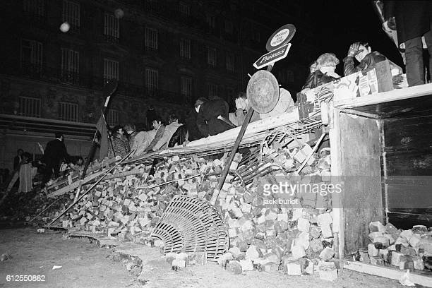 A Night of Barricades in the Latin Quarter
