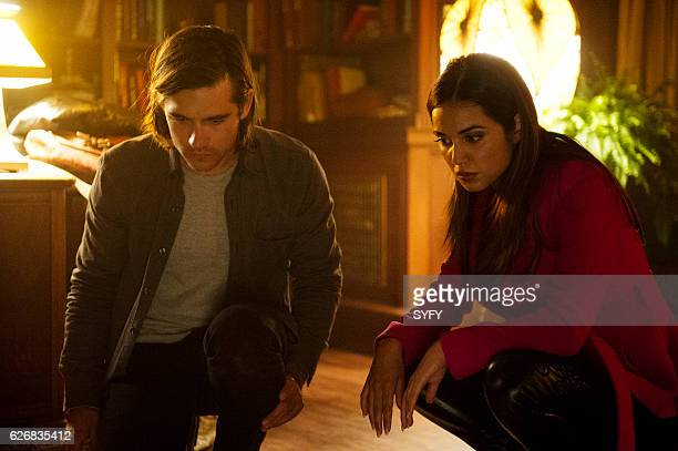 THE MAGICIANS 'Night of Crowns' Episode 201 Pictured Jason Ralph as Quentin Summer Bishil as Margo
